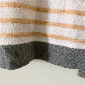 Lou & Grey Tops - Lou & Grey Cotton Boatneck Striped Long Slv Sweatr